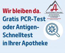 GRATIS COVID 19 PCR-TEST